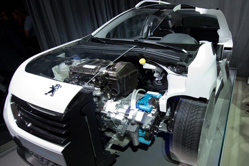 Peugeot tecnologia hybrid-air