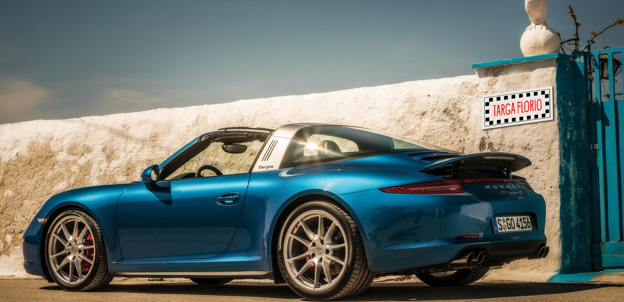 Porsche 911 Targa 4S, ritorno in Sicilia
