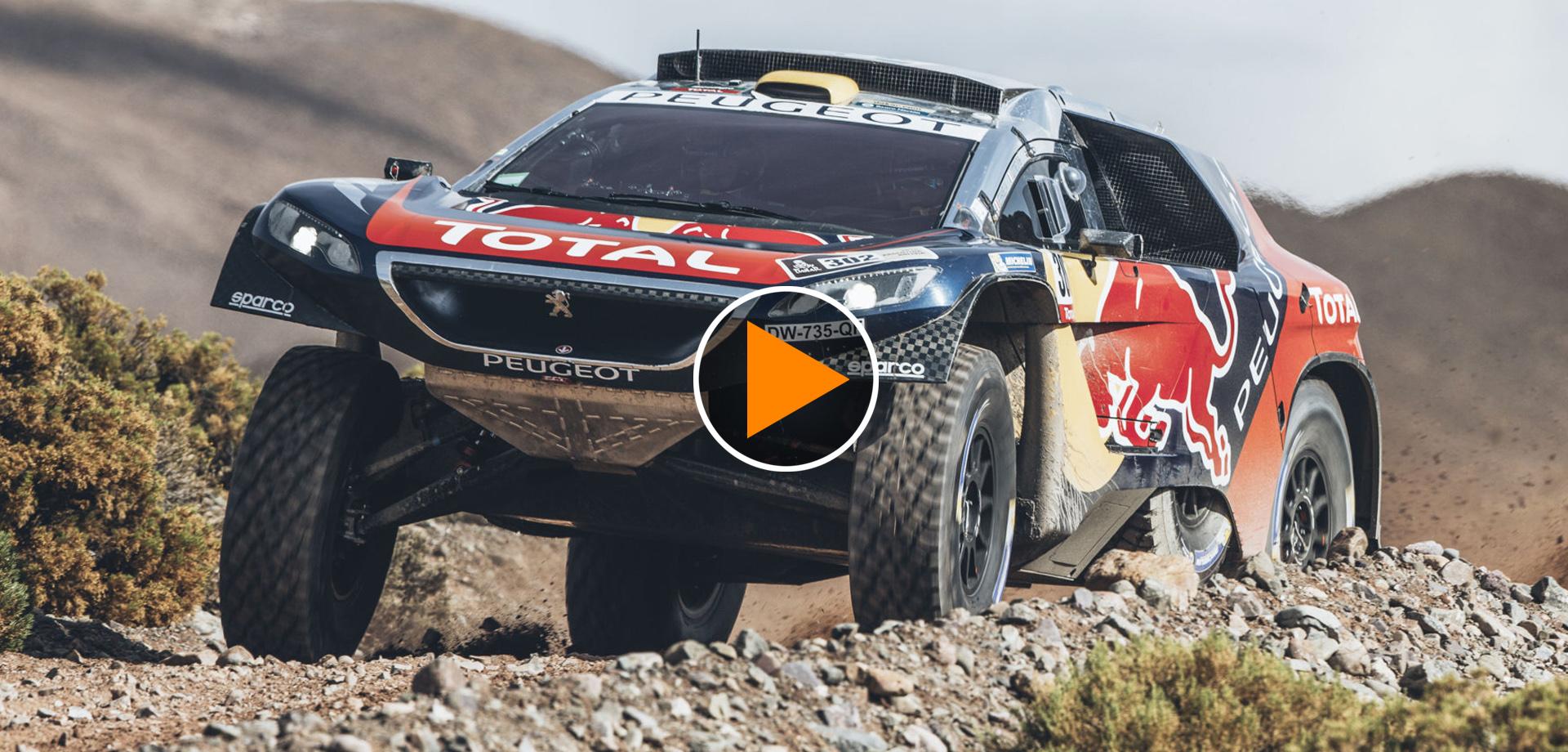 Sua Maestà Peterhansel, Dakar alla Peugeot