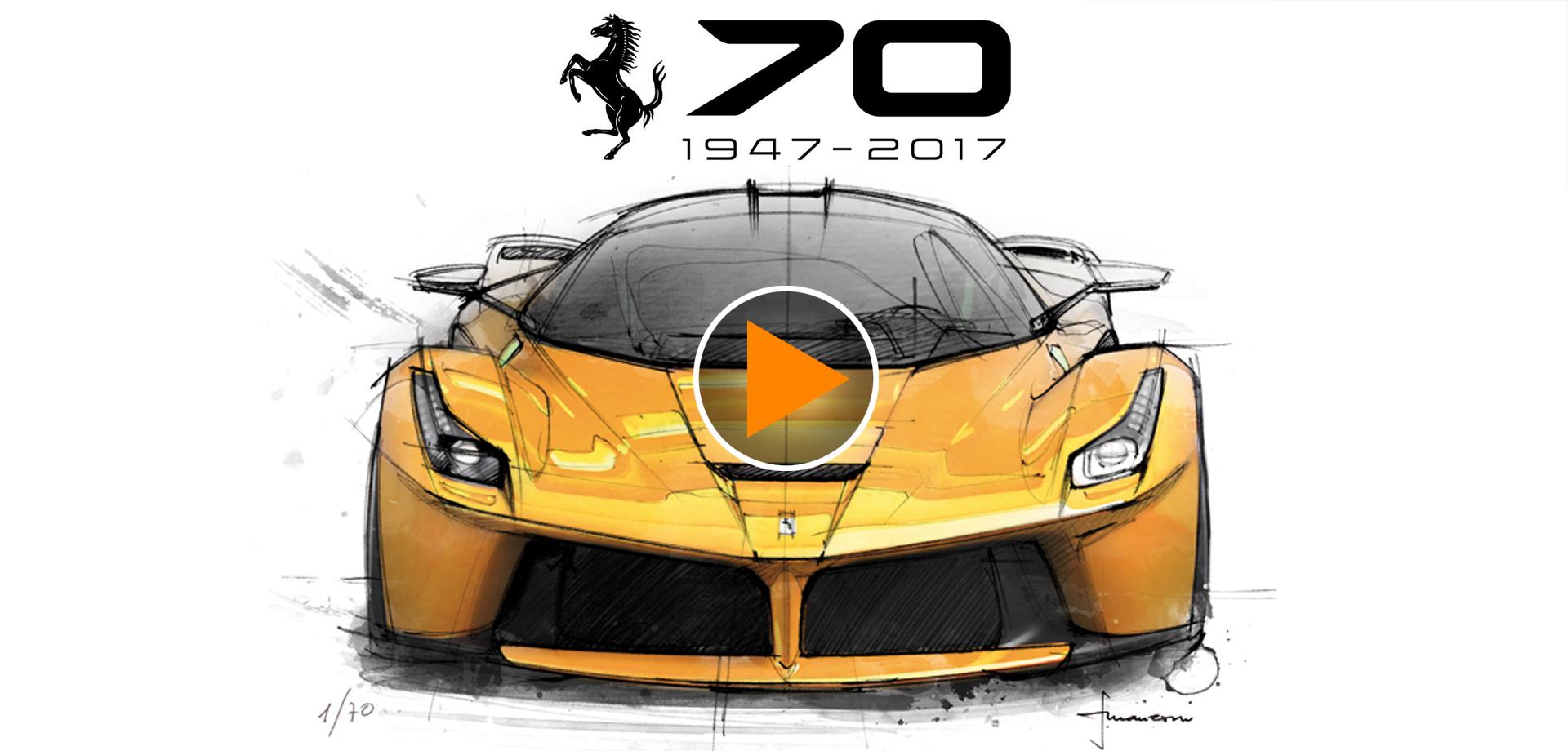 Ferrari 70 Anni – Intervista a Flavio Manzoni