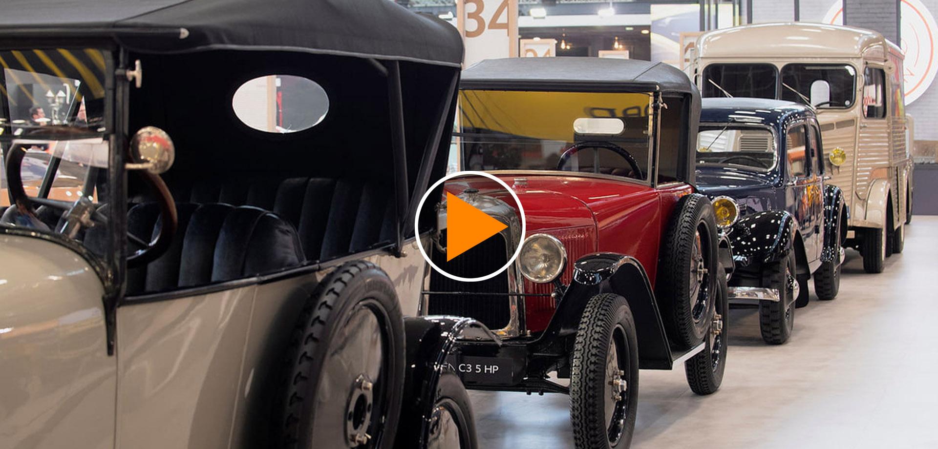 Citroen a Retromobile 2019