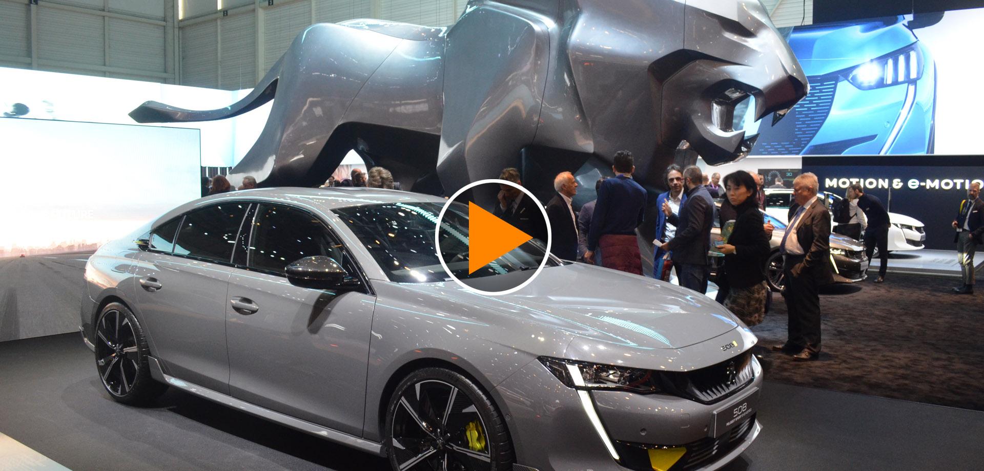 Peugeot al Salone di Ginevra 2019