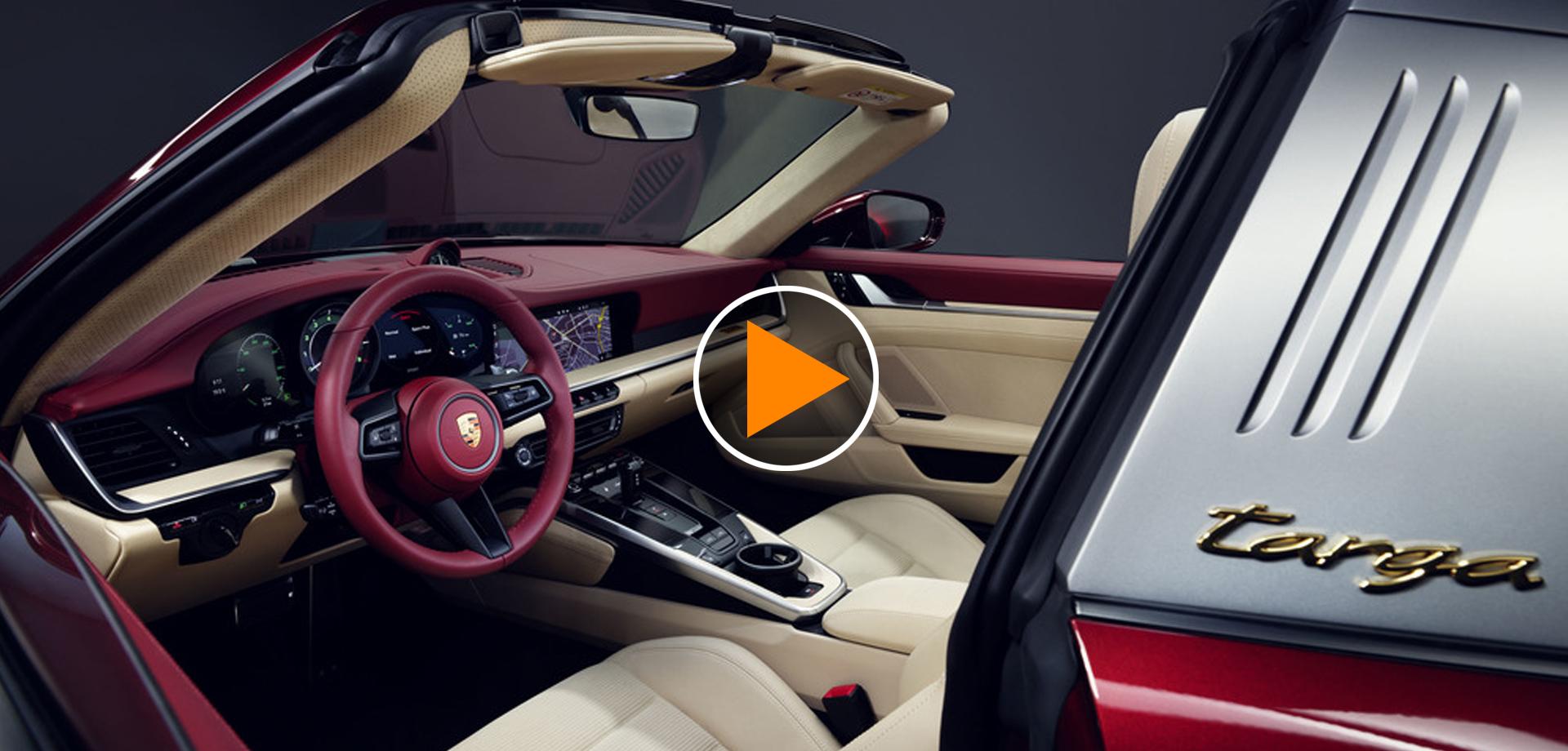 Porsche 911 Targa 4D Heritage Design edition, omaggio alla tradizione